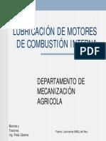 Lubricacion de Motores
