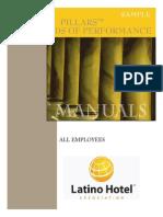 Sample Pillars - LHA