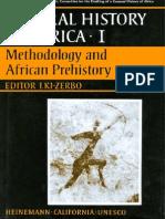 Unesco Historyof Africa Vol1