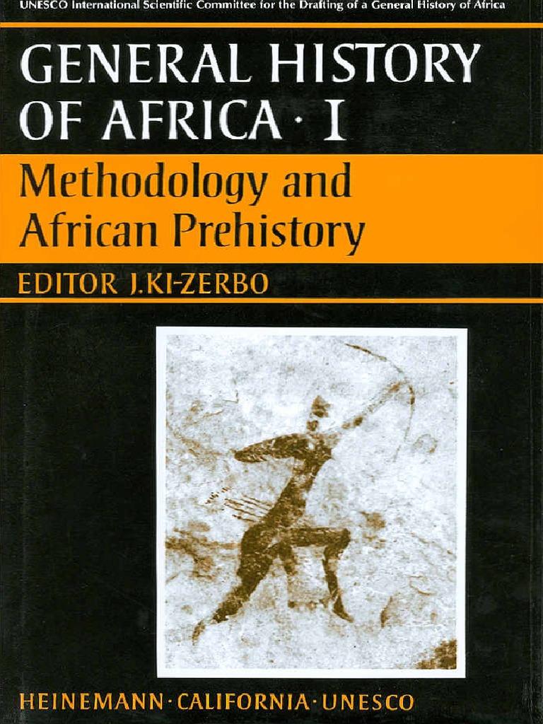 Unesco Historyof Africa Vol1 | Stone Age | Africa