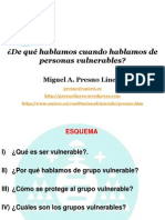 Grupo s Vulnerable s