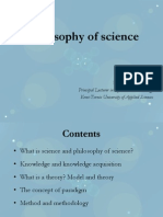 7 - Philosophy of Science