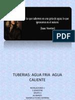 Diapositivas Tuberias Agua Fria y Caliente