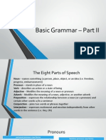 Basic Grammar – Part II