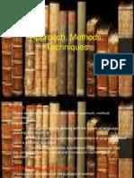 Approach, Methods, Techniques[1] 2