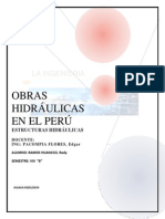Obras Hidráulicas en El Perú Final
