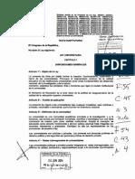 Nueva Ley Universitaria Peru