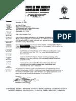 Barnstable County Sheriff's Office (Massachusetts) - 287(g) FOIA Documents