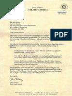 Pinal County Sheriff's Office (Arizona) - 287(g) FOIA Documents