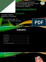 Caso Clínico de Shock Cardiogénico Del Htd