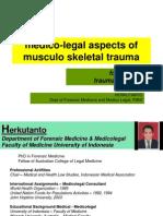 Aspek Medikolegal Trauma, Traumatologi Forensik