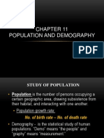Population and Demography - Chapter 11
