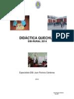 Didactica Quechua -Juan Pariona