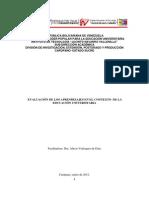 Curso de Evaluacion Documento Final