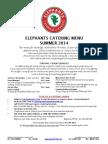 Elephants CateringMenu Summer2014 July