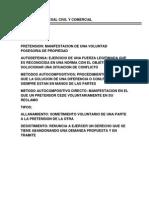 Resumen- Derecho Procesal Civil y Comercial