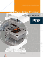 SolidWorks Office Premium 2006 - Chapas Metalicas e Soldas