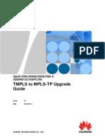 Optix Osn 3500&7500&7500 II v200r013c10spc100 Tmpls to Mpls-tp Upgrade Guide