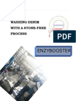 Washing Denim With Stone Free Process - EnZYBOOSTER