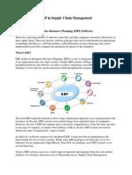 ERP in Supply Chain Management
