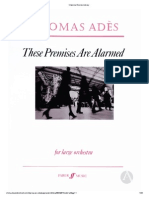 Ades - These Premises Are Alarmed