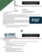 Programa de Evaluación Escolar II-2014