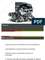 Control Servos Motores Arduino