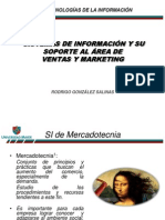 Clase N° 6 2013 SI y su apoyo a Ventas y Marketing.R Gonzalez