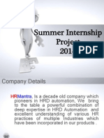 Summer Internship Project 2