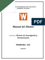 Tecnicas de Investigacion y Documentacion