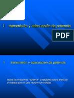 11 Transmisión y Adecuación de Potencia