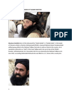 Former and Current Leaders of Taliban Pakistan