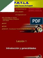130773279 27245384 PHTLS Leccion 01 Introduccion y General Ida Des ENARM Ppt