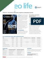Osteo Ratecard 2014