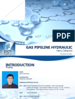 Gas Pipeline Hydraulic Course