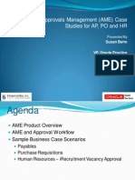 Oracle Approvals Management (AME) Case Studies for AP, PO, And HR