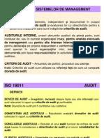 3. Auditarea Sistemelor de Management