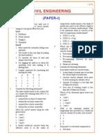 IES OBJ Civil Engineering 2005 Paper I
