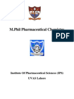 M.phil Pharmaceutical Chemist.(29.11.13)