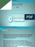 Provider Apostille India Attestation