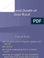 Trial and Death of Jose Rizal