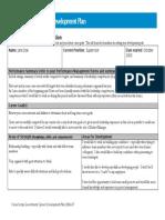 Development Plan_sample