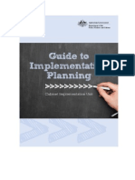 Guide to Implementation Planning1