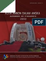 Kota Ambon Dalam Angka 2012