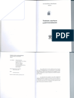 Tradition, Écriture Et Patrimonalisation - y Silvia Macedo Editores - 2012 - Abya Yala