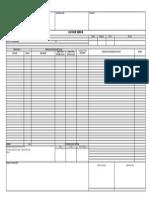 Contoh Form Laporan Harian Kontraktor
