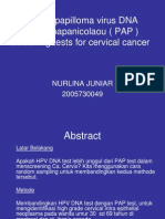 Human Papilloma Virus DNA Versus Papanicolaou Screening Tests