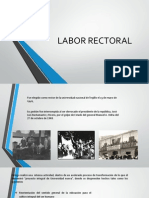Labor Rectoral