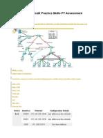 CCNA 3 EIGRP ScaN Practice Skills PT Assessment Packet Tracer