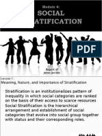 SOCIETY - Social Stratification